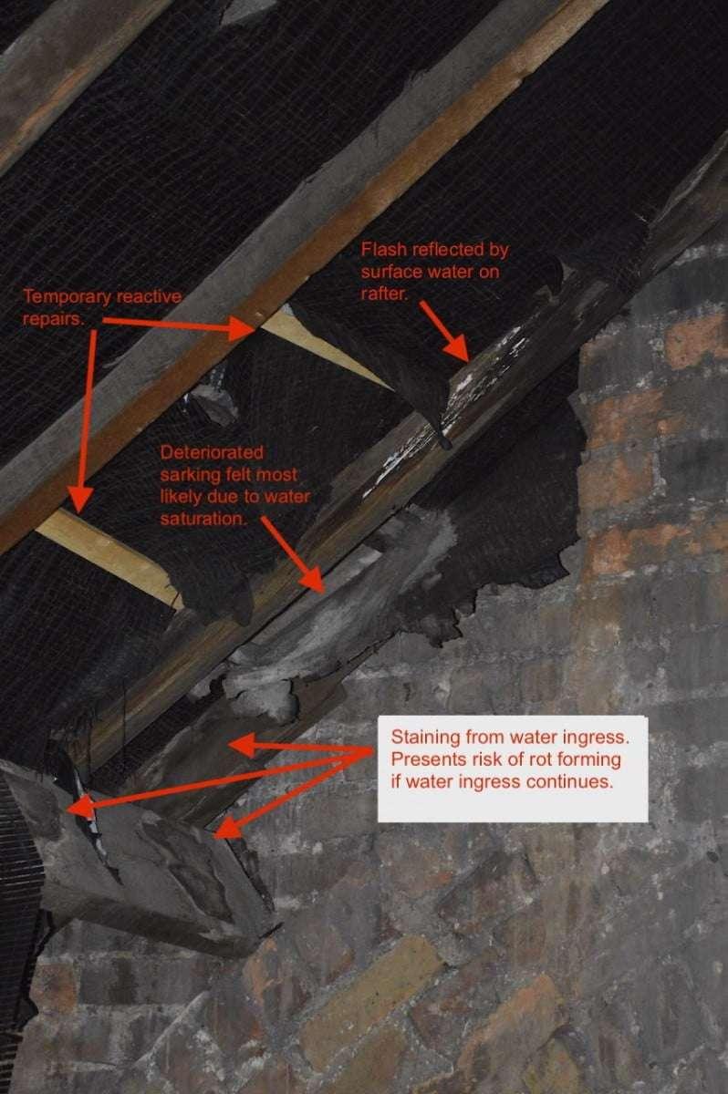 roof survey details